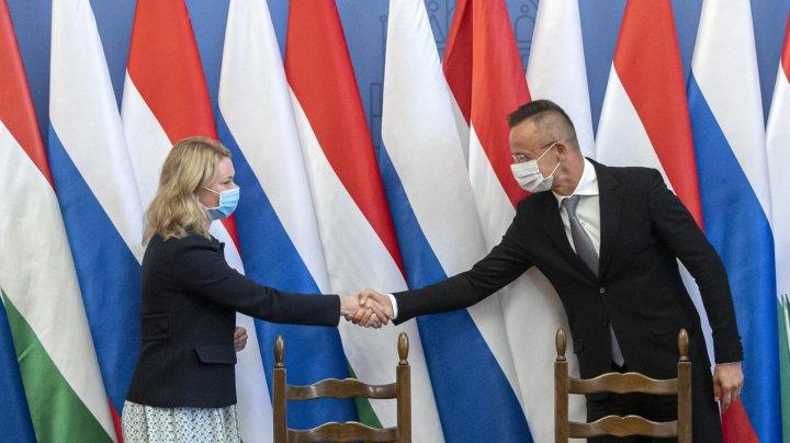 Ungaria a semnat cu Gazprom un contract de livrare a gazelor pe 15 ani