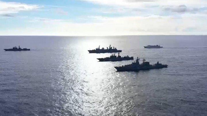 Marina rusă a efectuat exerciții militare în care a simulat lovirea unor ținte în Marea Neagră