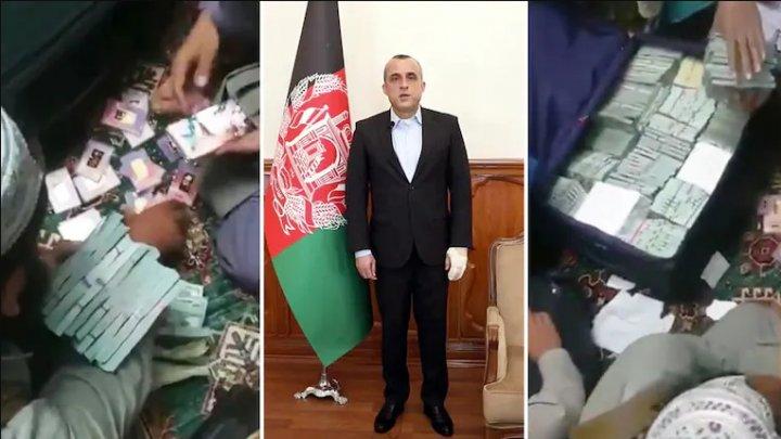 Dovadă a corupției fostei conduceri a Afganistanului: 6,5 milioane de dolari și lingouri de aur găsite la reședința fostului prim-vicepreședinte