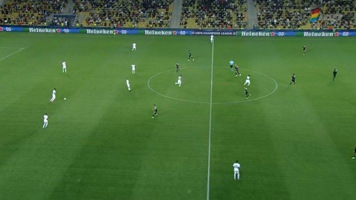 Început promițător pentru Sheriff Tiraspol. Tiraspolenii conduc meciul cu 2-0 în faţa echipei Shahtar Donețk