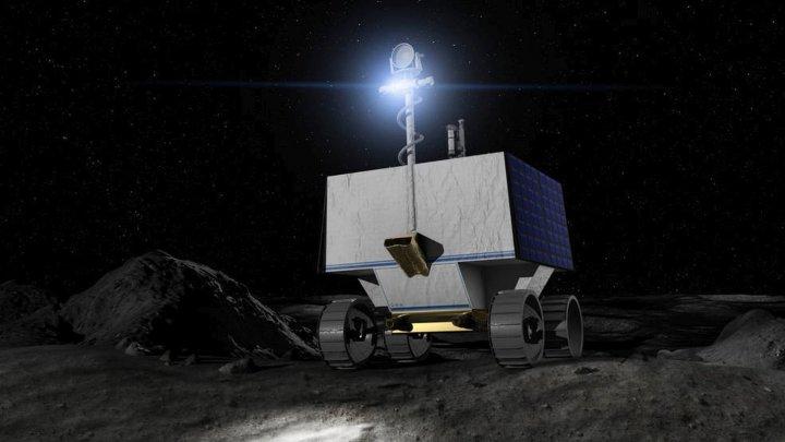 Un nou pas spre Lună. NASA a ales zona de aselenizare pentru roverul VIPER, care va căuta gheață pe satelitul natural al Pământului