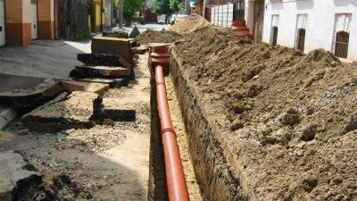 Şcoala, grădiniţa, primăria şi zeci de case din Taraclia vor fi conectate la o rețea de canalizare