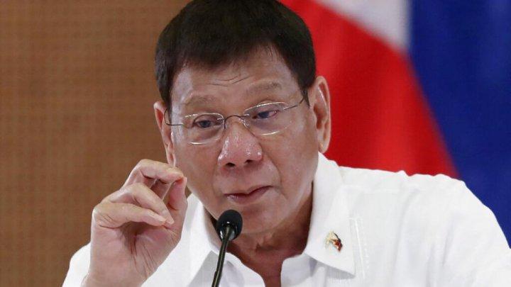 """""""Vaccinați oamenii în somn!"""" Propunerea făcută de președintele filipinez, Rodrigo Duterte"""