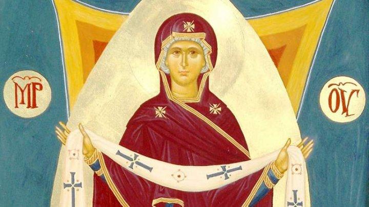 Creștinii ortodocși prăznuiesc Acoperământul Maicii Domnului
