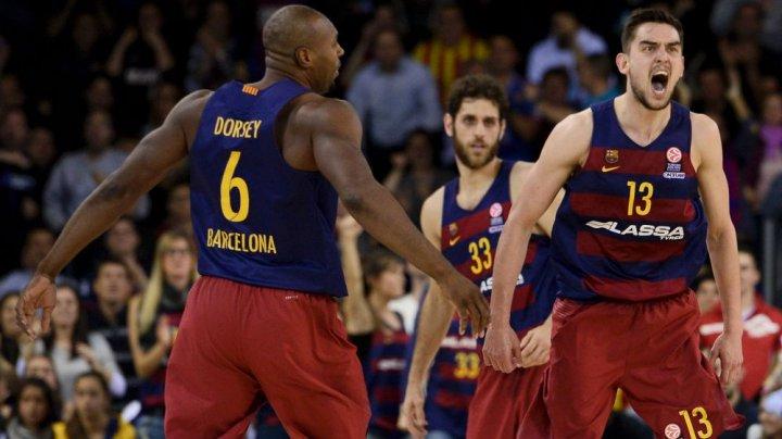 Barcelona a obținut a treia victorie în trei meciuri și conduce în clasament în noua ediție a Euroligii de baschet