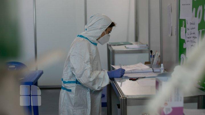1.666 de cazuri noi de COVID-19, înregistrate în Moldova, în ultimele 24 de ore