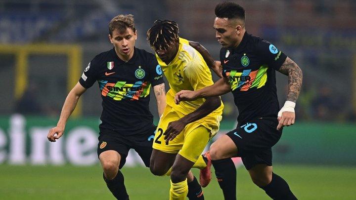 Meci tare pe stadionul Giuseppe Meazza! Inter Milano conduce Sheriff Tiraspol în prima întâlnire din Liga Campionilor