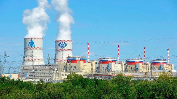 Un reactor nuclear din sudul Rusiei a fost stopat din cauza unei scurgeri de abur