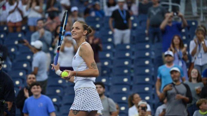 Karolina Pliskova, a patra jucătoare care și-a asigurat calificarea la Turneul Campioanelor din acest an