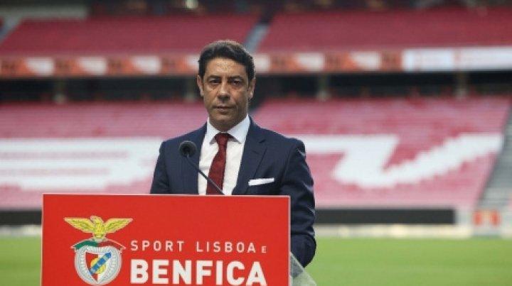 Rui Costa a fost ales în funcţia de preşedinte al clubului Benfica Lisabona