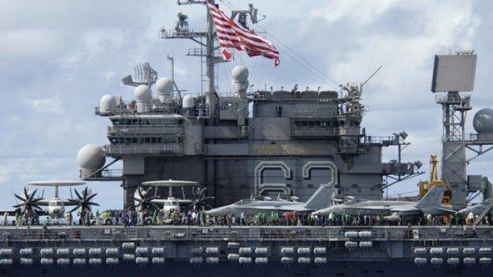 Marina SUA a vândut cu 2 cenţi două portavioane scoase din uz