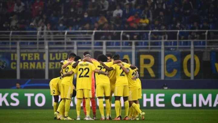 Visul merge mai departe! Sheriff Tiraspol a egalat în fața italienilor de la Internazionale Milano