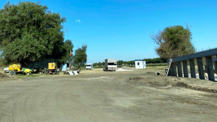 Drumul de ocolire a satului Troiţa Noua din Anenii Noi nu va fi gata până la finele lui 2021. Vezi care este cauza