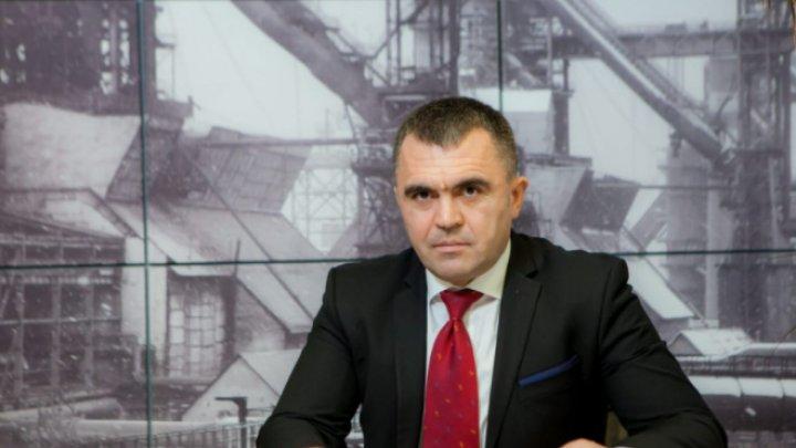 "Directorul general ""Metalferos"", Igor Cujba, și-a dat demisia"