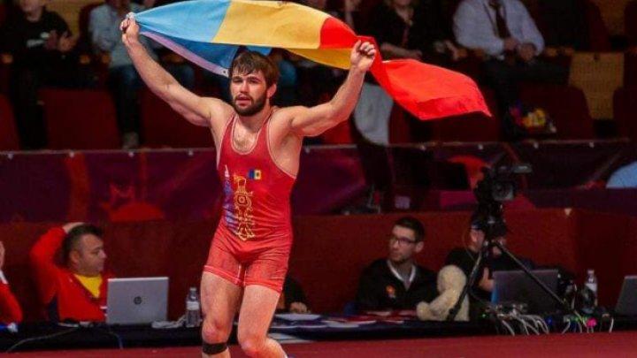 Sportivii moldoveni fac furori pe arena internațională. Luptătorul Victor Ciobanu s-a calificat în finala Campionatului Mondial de la Oslo