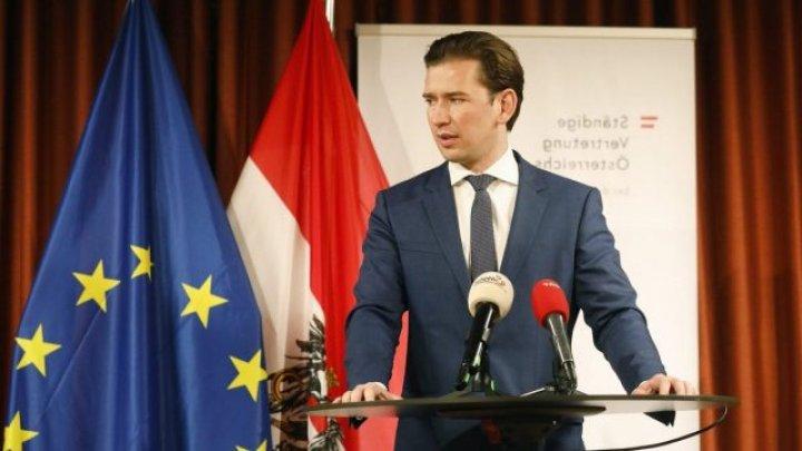 Cancelarul Sebastian Kurz şi-a anunţat demisia, pe fondul acuzaţiilor de corupţie