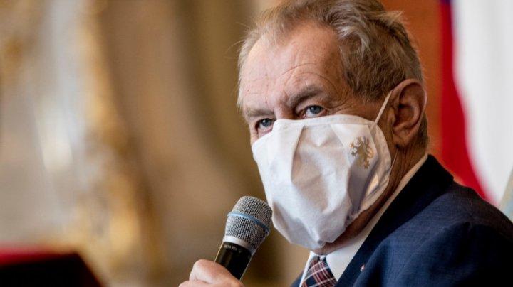 Preşedintele Cehiei, internat în spital la o zi după alegerile parlamentare
