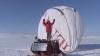 Жан-Луис Этьен - первый человек, долетевший в одиночку до полюса на шаре