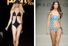 В моде - женские купальники-монокини и мужские плавки с низкой талией