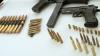 Полиция конфисковала более 1000 патронов, хранившихся нелегально в Дурлештах
