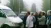 Протест перевозчиков у ВСП