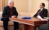 Владимир Воронин  встретился с послом США в Молдове Асифом Чодри