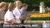Политики и простые горожане возложили цветы к памятнику Штефана чел Маре