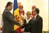 Мариан Лупу наградил Орденами почета послов США и Франции