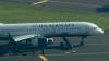 Самолет, охваченный огнем: 12 человек получили травмы