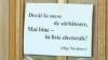 «Чем за праздничным столом, уж лучше в избирательных списках!», - заявили 400 женщин Молдовы