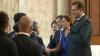 Во Дворце республики по случаю Дня независимости гостей встречали Мариан Лупу и Влад Филат