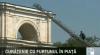 Подготовка ко Дню независимости: помыты памятник Штефану чел Маре и триумфальная арка
