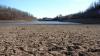 На юге Украины пересохли пруды и озера, обмелел Дунай