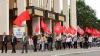 Коммунисты вышли на пикет. Оппозиция требует отставки руководства страны и отзыва мандатов Додона, Гречаной и Абрамчук