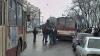 Авария в центре Кишинева: микроавтобус столкнулся с троллейбусом