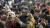 В Мехико на улицы вышли около 10 тысяч зомби