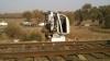 Маневровый локомотив врезался в микроавтобус на переезде у села Бульбоака. Восемь человек погибли