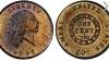 Американская медная монета в один цент продана с аукциона за 1,38 миллионов долларов
