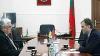Лидер Приднестровья Евгений Шевчук встретился с послом Украины в Молдове