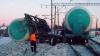 На железной дороге в Амурской области сошли с рельсов 17 цистерн с нефтью