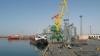 Первый контейнеровоз прибыл в международный порт Джурджулешт