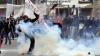 В ходе забастовки в Греции произошли столкновения демонстрантов с полицией