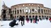 В Риме из-за снега объявлен режим чрезвычайной ситуации
