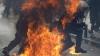 Протестующие в Греции подожгли здания в центре Афин