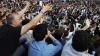 Испанцы протестуют против жестокого обращения полиции со студентами