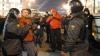 На Пушкинской площади в Москве задержаны около 100 человек