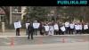 Протест у Дворца Республики: Продавцы цветов, мяса и мобильных телефонов вновь вышли на улицу