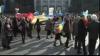 """Столкновения в ходе """"Марша объединения"""".Члены организации """"Патриоты Молдовы"""" попытались остановить манифестантов"""