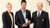 Новак Джокович награжден медалью Монако за вклад в развитие спорта