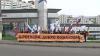 Дмитрия Рогозина встречала у ворот города Лига русской молодёжи (ВИДЕО)